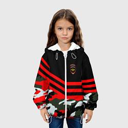 Куртка 3D с капюшоном для ребенка Полиция: Камуфляж - фото 2