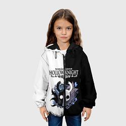 Куртка с капюшоном детская Hollow Knight Black & White цвета 3D-черный — фото 2