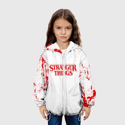 Детская 3D-куртка с капюшоном с принтом STRANGER THINGS, цвет: 3D-белый, артикул: 10183833305458 — фото 2