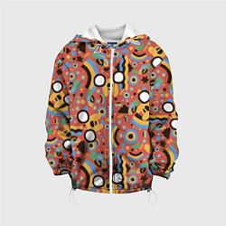 Куртка с капюшоном детская Время приключений Jake цвета 3D-белый — фото 1