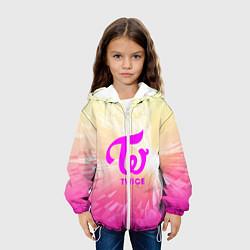 Детская 3D-куртка с капюшоном с принтом TWICE, цвет: 3D-белый, артикул: 10201491505458 — фото 2