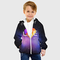 Куртка с капюшоном детская LIKE цвета 3D-белый — фото 2