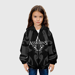 Куртка с капюшоном детская Assassin's Creed цвета 3D-черный — фото 2