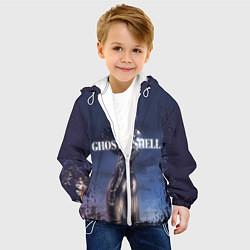 Детская 3D-куртка с капюшоном с принтом Призрак в доспехах, цвет: 3D-белый, артикул: 10205759305458 — фото 2