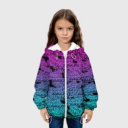 Детская 3D-куртка с капюшоном с принтом Imagine Dragons, цвет: 3D-белый, артикул: 10208267505458 — фото 2