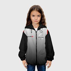 Детская 3D-куртка с капюшоном с принтом NISSAN NISMO, цвет: 3D-черный, артикул: 10208593505458 — фото 2
