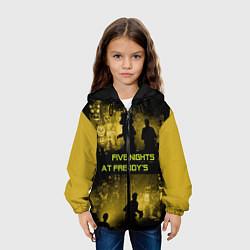 Детская 3D-куртка с капюшоном с принтом Five Nights at Freddy's, цвет: 3D-черный, артикул: 10210855905458 — фото 2