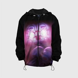 Детская 3D-куртка с капюшоном с принтом Five Nights At Freddy's, цвет: 3D-черный, артикул: 10211206905458 — фото 1