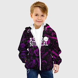 Детская 3D-куртка с капюшоном с принтом TRAVIS SCOTT, цвет: 3D-белый, артикул: 10221943705458 — фото 2