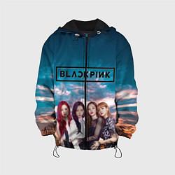 Детская 3D-куртка с капюшоном с принтом BlackPink, цвет: 3D-черный, артикул: 10267885505458 — фото 1