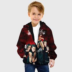 Куртка с капюшоном детская Bullet for my valentine цвета 3D-черный — фото 2