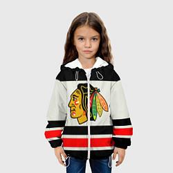 Куртка 3D с капюшоном для ребенка Chicago Blackhawks - фото 2