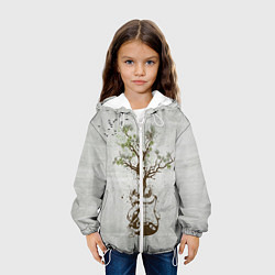 Куртка 3D с капюшоном для ребенка Three Days Grace: Tree - фото 2