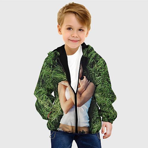 Детская куртка Анджелина Джоли / 3D-Черный – фото 4