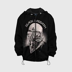 Детская 3D-куртка с капюшоном с принтом Black Sabbath: Acid Cosmic, цвет: 3D-черный, артикул: 10087840405458 — фото 1