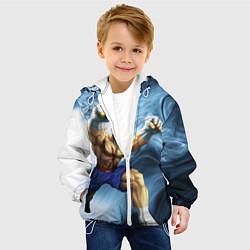 Куртка с капюшоном детская Muay Thai Rage цвета 3D-белый — фото 2