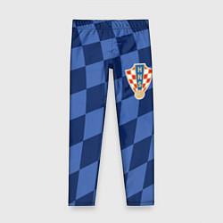Леггинсы для девочки Сборная Хорватии цвета 3D — фото 1