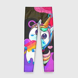Леггинсы для девочки Единорог Likee цвета 3D — фото 1