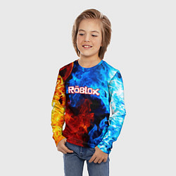 Лонгслив детский ROBLOX цвета 3D — фото 2