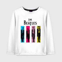 Детский лонгслив Walking Beatles