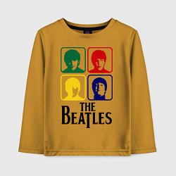 Детский лонгслив The Beatles: Colors