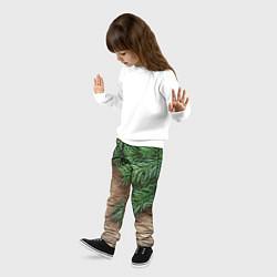 Брюки детские Дуx рождества цвета 3D — фото 2