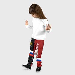 Брюки детские N Novgorod, Russia цвета 3D-принт — фото 2