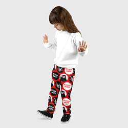 Брюки детские Kumamon Pattern цвета 3D — фото 2
