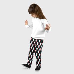 Брюки детские BILLIE EILISH GLITCH цвета 3D — фото 2