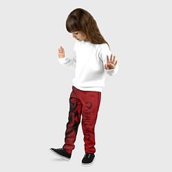 Брюки детские Overlord цвета 3D-принт — фото 2