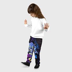 Брюки детские BRAWL STARS LEON ОБОРОТЕНЬ цвета 3D — фото 2