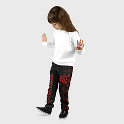 Брюки детские Roblox цвета 3D — фото 2