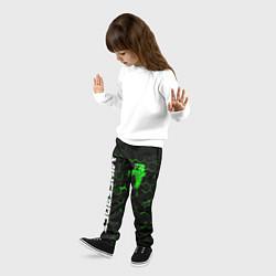 Брюки детские MINECRAFT цвета 3D-принт — фото 2