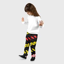 Брюки детские 2019-nCoV Коронавирус цвета 3D — фото 2