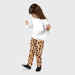 Брюки детские Леопард цвета 3D — фото 2