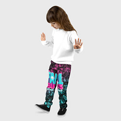 Брюки детские FALL GUYS цвета 3D — фото 2