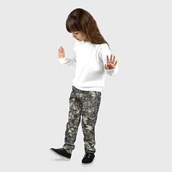 Брюки детские Камуфляж Амонг Ас цвета 3D — фото 2