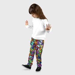 Брюки детские Among Us Overload цвета 3D-принт — фото 2
