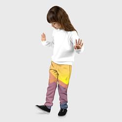 Брюки детские Векторный Египед цвета 3D — фото 2