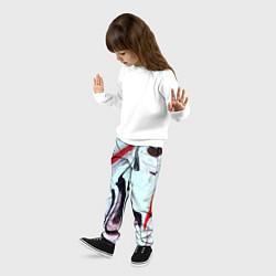 Брюки детские Разводы цвета 3D — фото 2