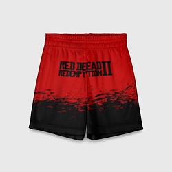 Шорты детские Red Dead Redemption II цвета 3D-принт — фото 1