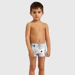 Плавки для мальчика Паутинка цвета 3D — фото 2