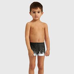 Плавки для мальчика Ночная полянка цвета 3D — фото 2