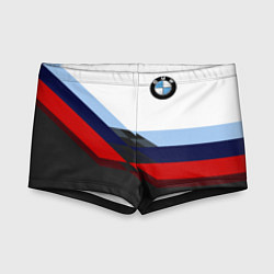 Плавки для мальчика BMW M SPORT цвета 3D — фото 1