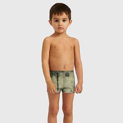Плавки для мальчика Breaking Benjamin цвета 3D — фото 2