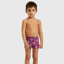 Плавки для мальчика Белоснежка и Принц цвета 3D — фото 2