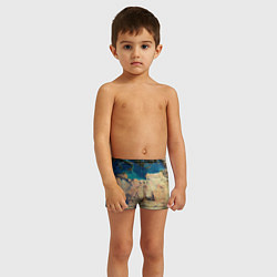 Плавки для мальчика Земля цвета 3D — фото 2