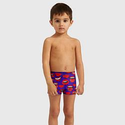 Плавки для мальчика Губы цвета 3D — фото 2