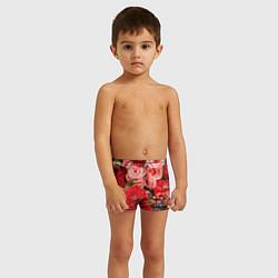 Плавки для мальчика Ассорти из цветов цвета 3D — фото 2