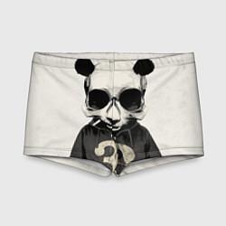 Плавки для мальчика Скелет панды цвета 3D — фото 1